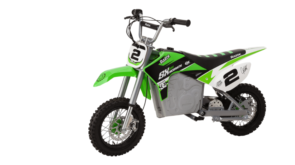 Razor SX500 electric dirt bike