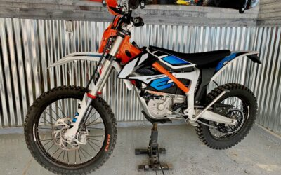How to charge KTM electric dirt bike in USA